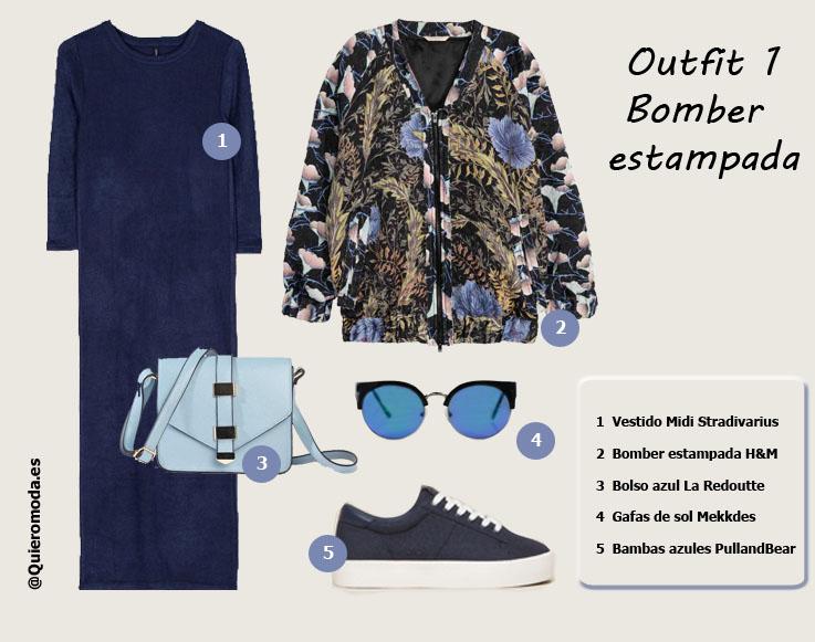 outfit-chaqueta-bomber-estampada