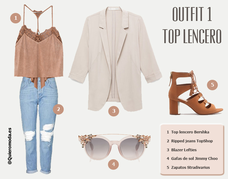 outfit top lencero